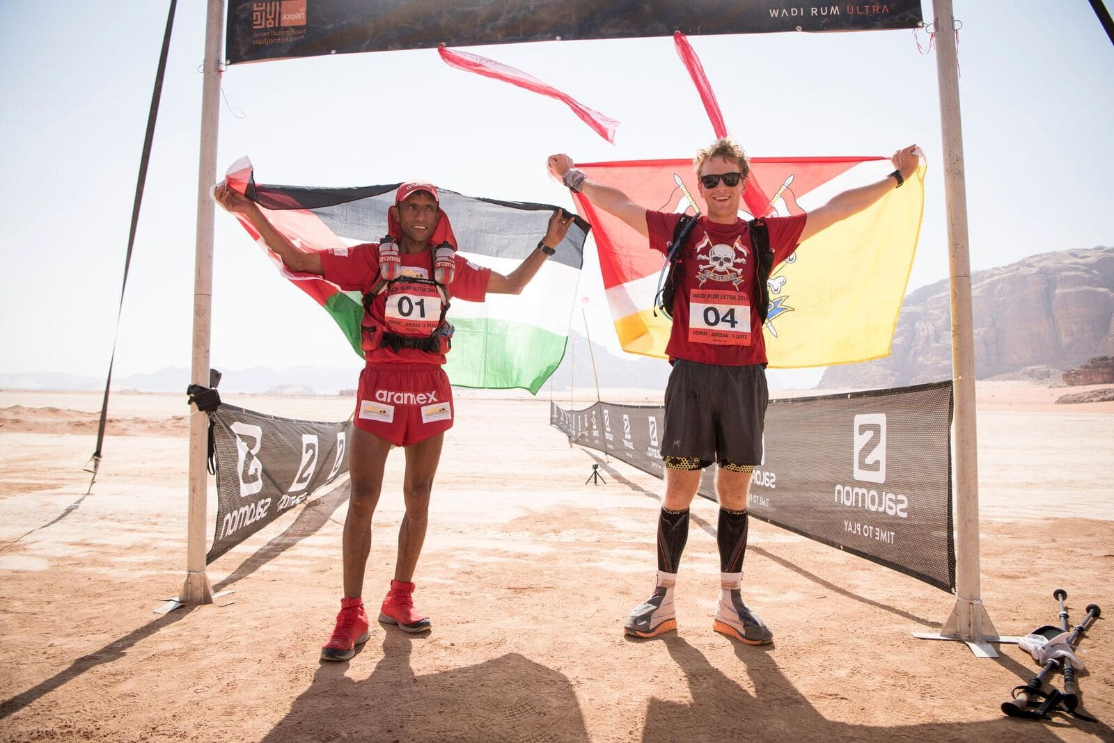 Army officer shares how to succeed in the desert Ultra X