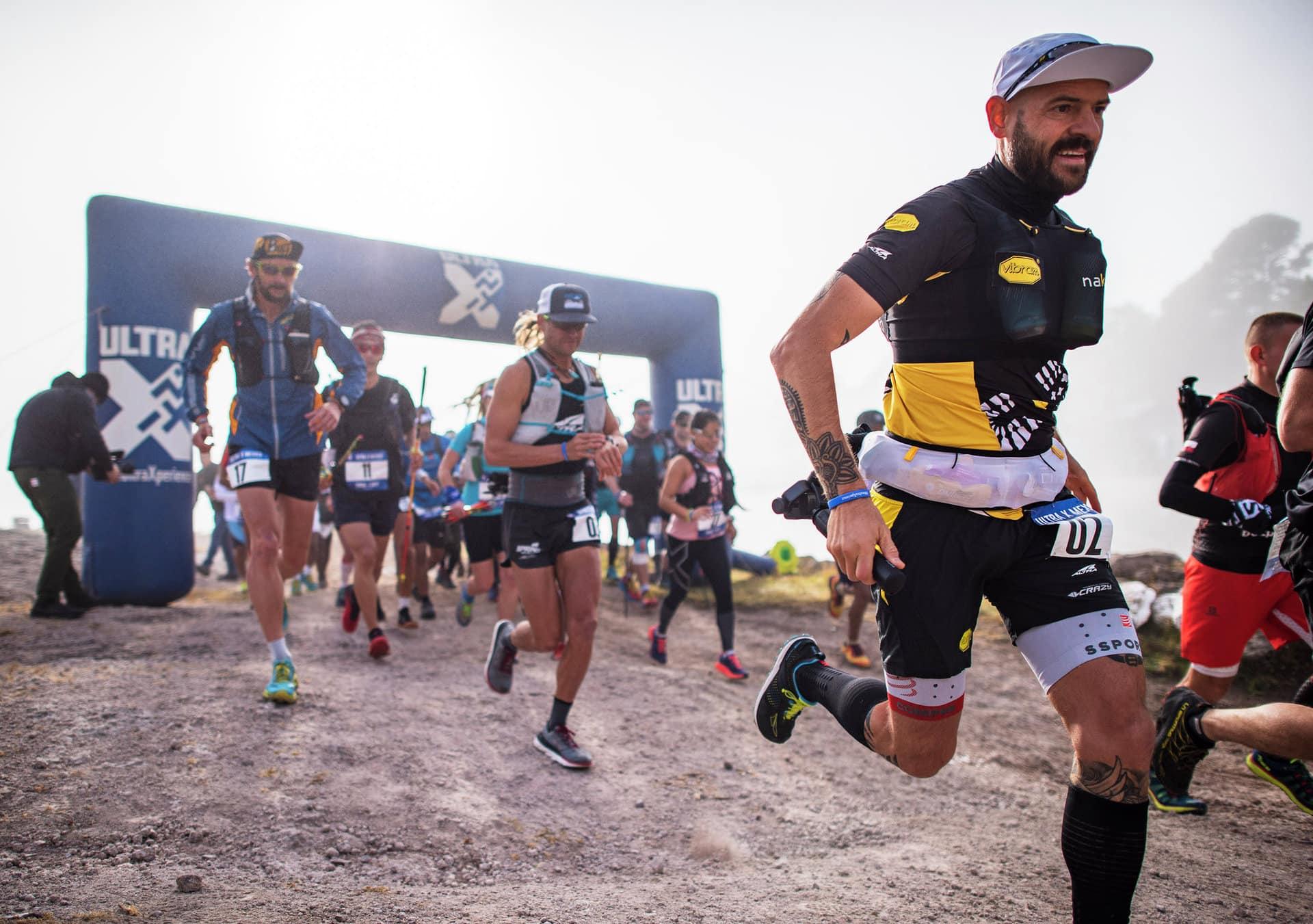 Runners start Ultra X Mexico