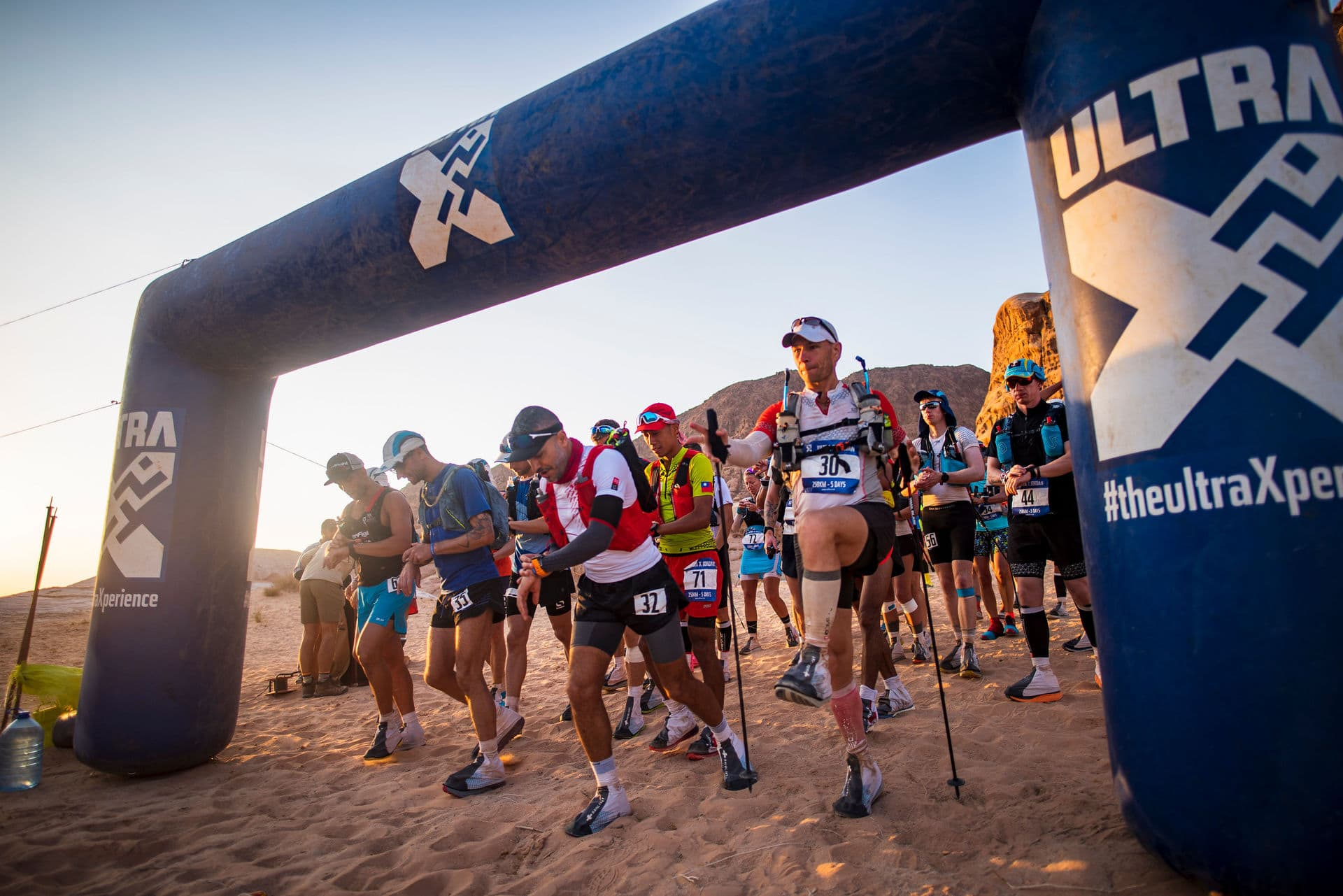 Start Line Ultra X Jordan Ultramarathon