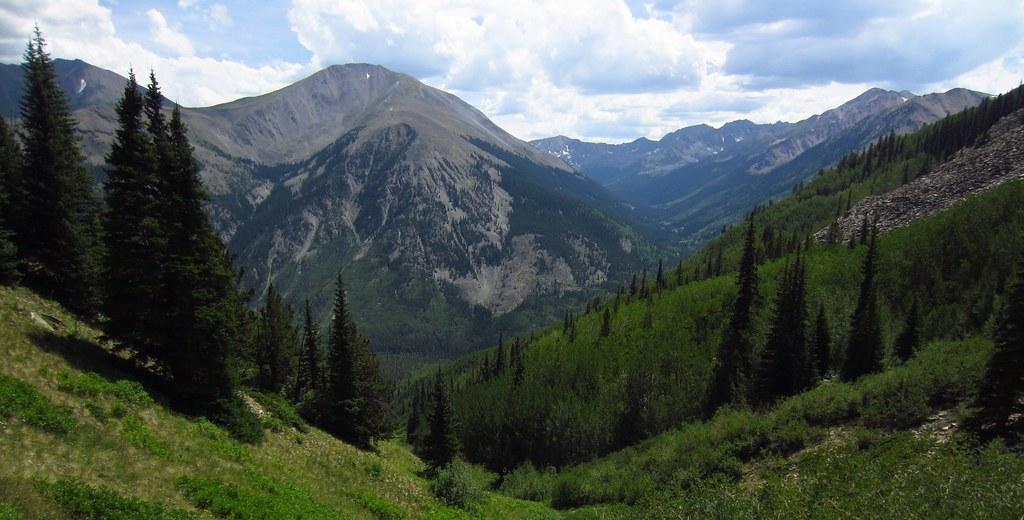 Leadville Trail 100 Hope Pass