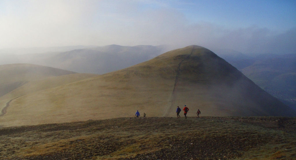 Lake District- Bob Graham Round Route