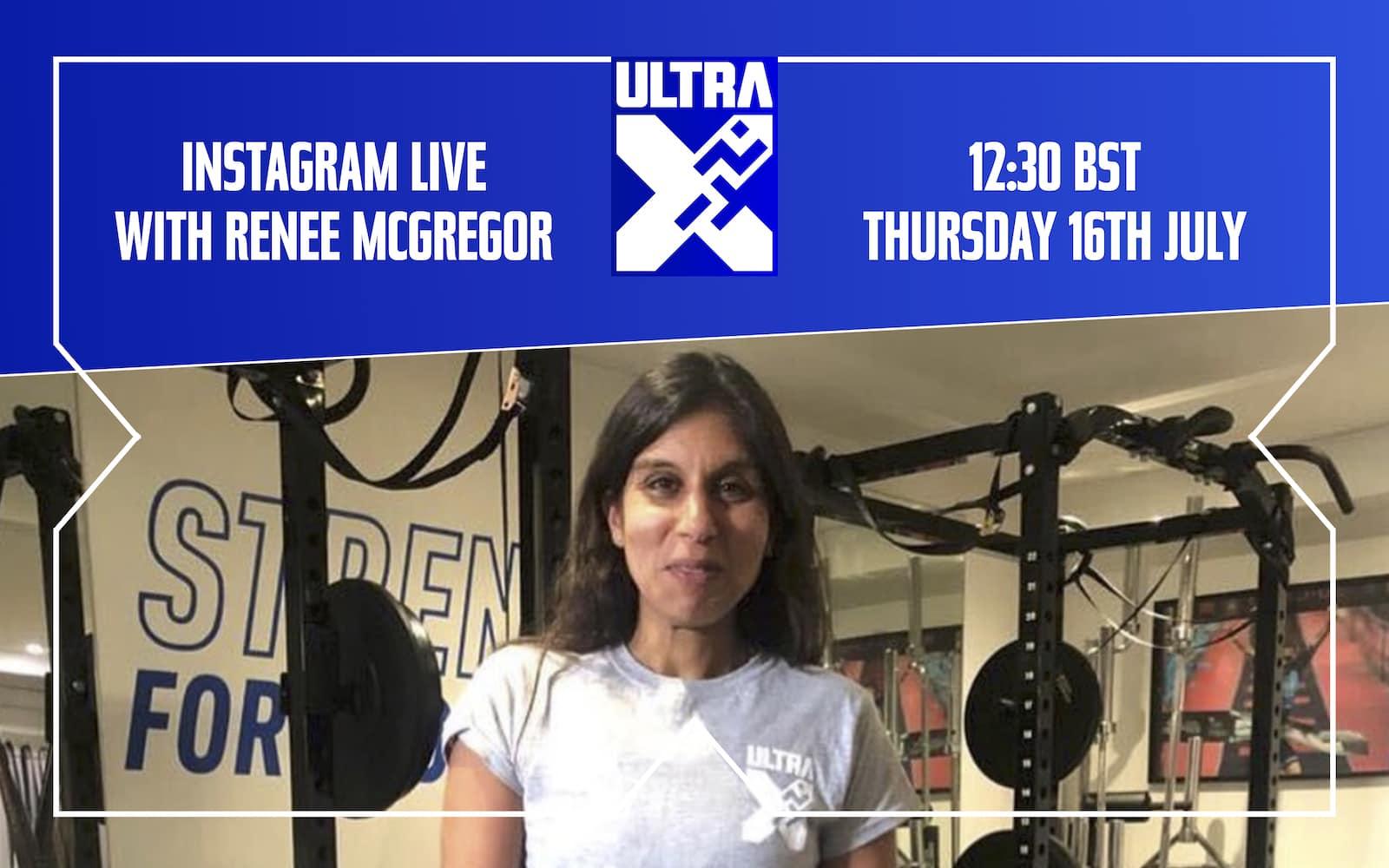 Instagram Live With Renee McGregor: Ultra Marathon Nutrition