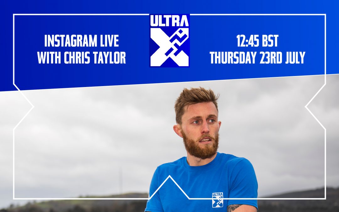 Ins­tagram Live With Chris Taylor: Head Of Oper­a­tions At Ultra X