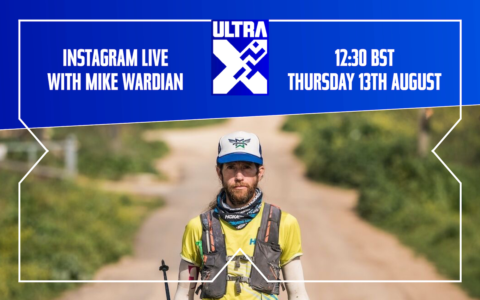 Ins­tagram Live With Ultra Run­ner Mike War­d­i­an: How To Pre­pare For Tech­nic­al Trails
