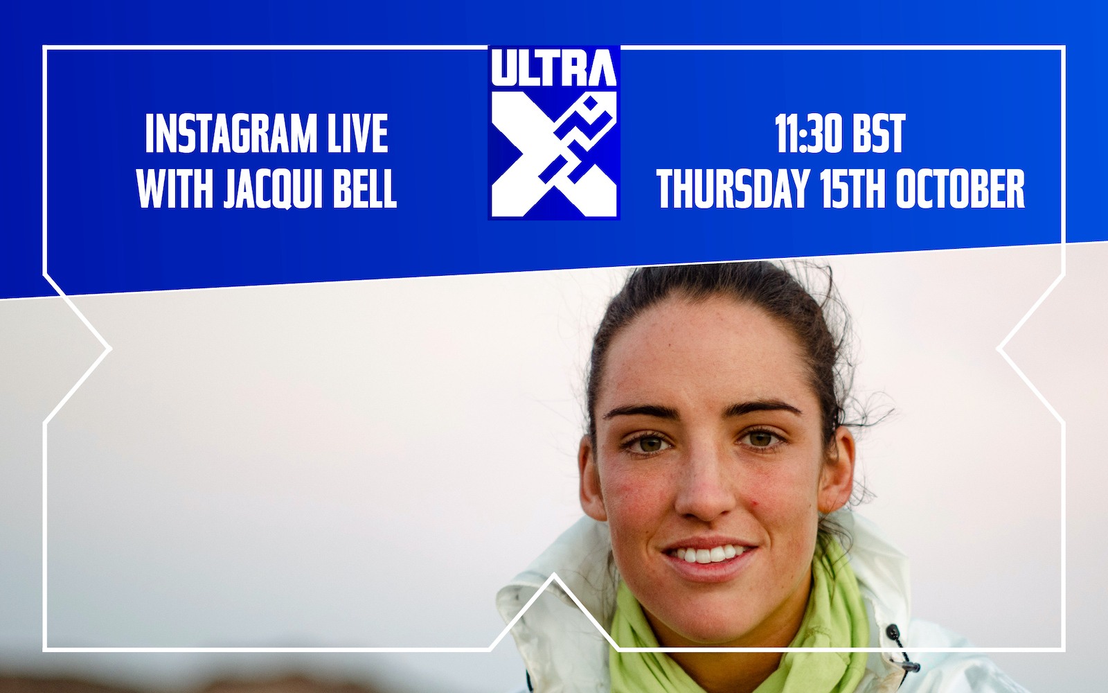 Ins­tagram Live With Ultra X Pro Ath­lete And Aus­trali­an Ultra Run­ner Jac­qui Bell